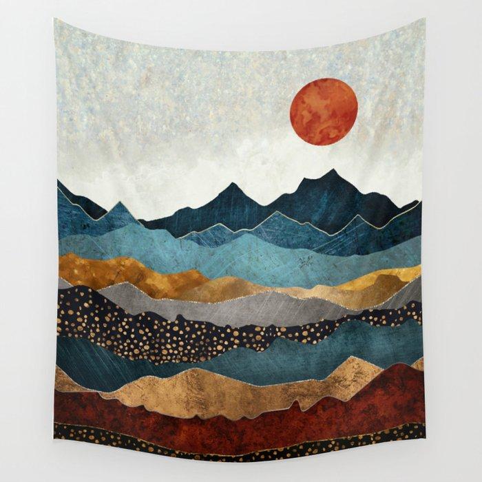 Amber Dusk Wandbehang
