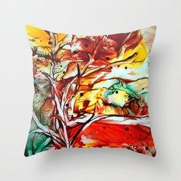 GoldenOctober Throw Pillow