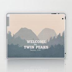 Welcome to Twin Peaks v2 Laptop & iPad Skin