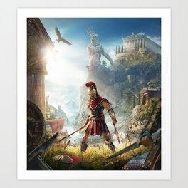 [AC:Odyssey] Art Print