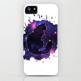 Cat Constellation iPhone Case