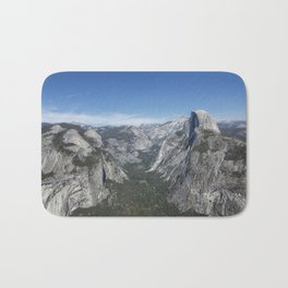 Half Dome from Glacier Point Bath Mat