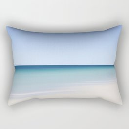 azure beach Rectangular Pillow