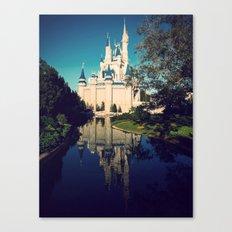 The Disney Castle  Canvas Print