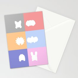 Cute Critter Gang KO Stationery Cards
