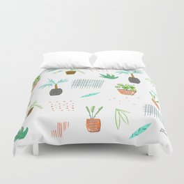 Botanica Pattern Duvet Cover