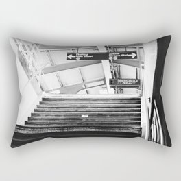 Subway Station in Astoria, Queens in March Rectangular Pillow
