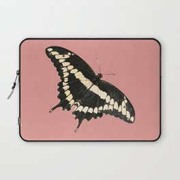 Butterfly Illustrated Print Laptop Sleeve