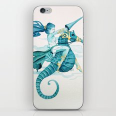 Sea Warrior iPhone & iPod Skin