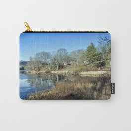 Pond in late autumn Carry-All Pouch