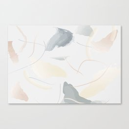 Pastel Watercolor Canvas Print