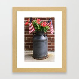July 4th Framed Art Print