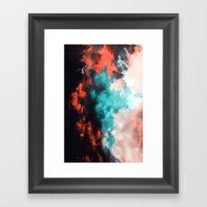 Painted Clouds VII (Phoenix) Framed Art Print
