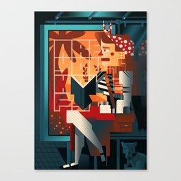 Escape (Are you happy?) Canvas Print