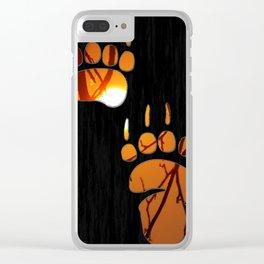 Bear Claw Clear iPhone Case