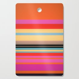 Sunset Stripes Cutting Board