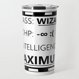 Wizarding Diploma Minus Infinity HP and Maximum Intelligence Travel Mug