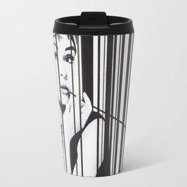 Audrey Hepburn by Moet Art Travel Mug