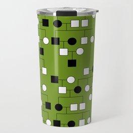 Pedigree Analysis - Autosomal Dominant Travel Mug