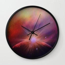 Mars rises Wall Clock