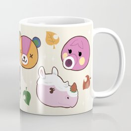 Animal Crossing Lovely Villagers Coffee Mug