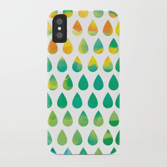 Monsoon Rain iPhone Case
