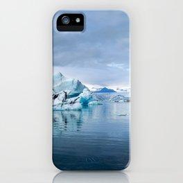 Iceberg Tours at Jökulsárlón iPhone Case