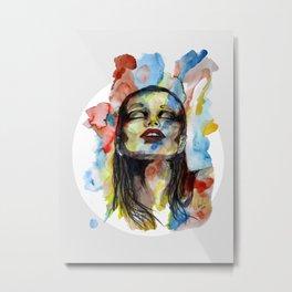 """Mirabelle"" by carographic Metal Print"