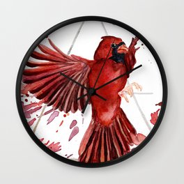 Air Cardinal Wall Clock