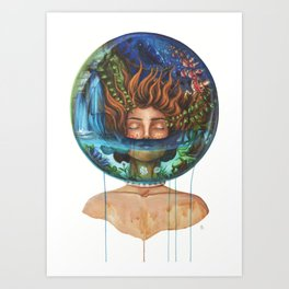 A Place to Breath Art Print