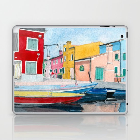 Burano Italy Laptop & iPad Skin