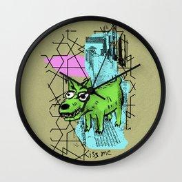 Perrete serie 1 Wall Clock