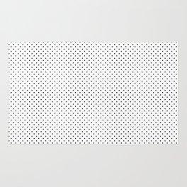 Black & White Polka Dots 1 Rug
