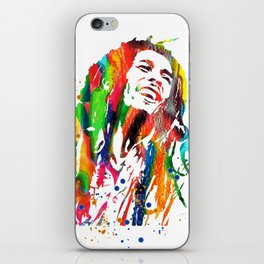 Marley poster iPhone Skin