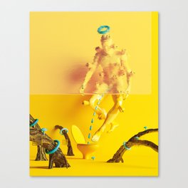 In the territory of the the real ones Canvas Print
