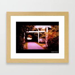 dream walking Framed Art Print