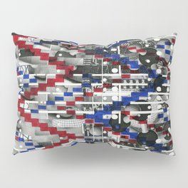 Clinically Proven (P/D3 Glitch Collage Studies) Pillow Sham