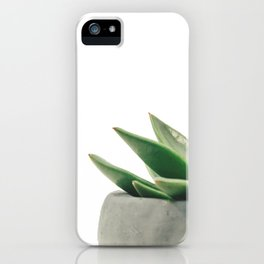 Cactus green iPhone Case