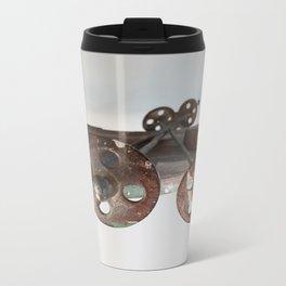 Rusty Rungs Metal Travel Mug