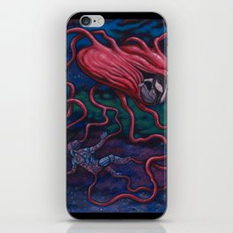 The Afterman iPhone Skin