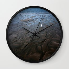 Low Tide at Hibiscus Coast Wall Clock