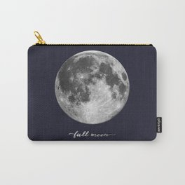 Full Moon on Navy English Carry-All Pouch