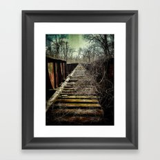 bridge Framed Art Print