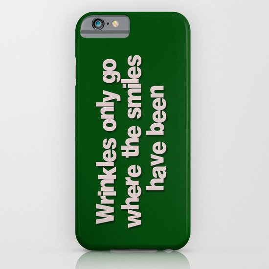 Wrinkles iPhone & iPod Case