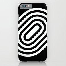 Stripey pill shape Slim Case iPhone 6s