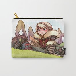 Hiccup and Astrid Carry-All Pouch