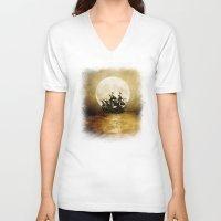 trip V-neck T-shirts featuring Vintage. Trip. by Viviana Gonzalez