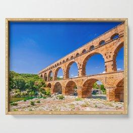 Pont du Gard, Provence Serving Tray