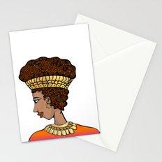 Nubian Beauty Stationery Cards