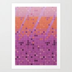 PO Dot Art Print